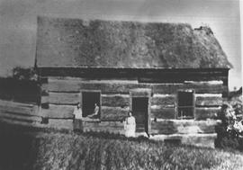 School house, Dummer Township, Peterborough County, ca. 1830